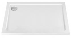REA - Sprchová vanička Porta 90x100 ľavá biela (REA-K6322)