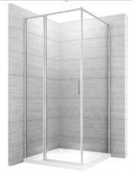 REA - Sprchovací kút Atrium Square 80x100 ľavý (REA-K8004)