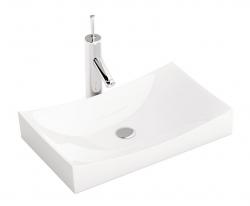 REA - Umývadlo na dosku Impero 2 N biele (REA-U1003)