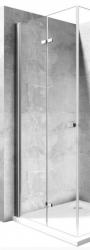REA - Zalamovacie sprchové dvere Best 80 bez profilu pro niku (REA-K1301)