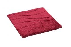 RIDDER - LA OLA predložka 55x50cm s protišmykom, polyester, červená (729816)