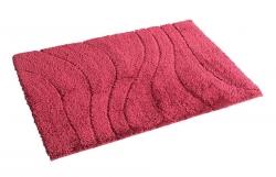 RIDDER - LA OLA predložka 60x90cm s protišmykom, polyester, červená (729316)