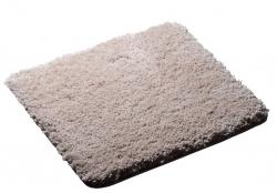 RIDDER - SOFTY predložka 55x50cm s protišmykom, polyester mikrovlákno, béžová (745809)