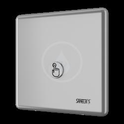 SANELA - Senzorové sprchy Ovládanie spŕch tlačidlom piezo na jednu vodu, chróm (SLS 01P)
