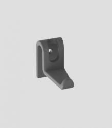 Sanit Háčiky antracit (4kusy) k výlevke plast Multiset 60006000099 (60A04000099)