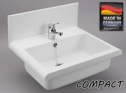 Sanit Umývadlo plast biela COMPACT / LINEO 550x450x165 60009010099 (60009010099)