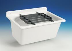 SANIT výlevka nástenná plast biela SANIT 61x45x35cm bez mriežky, umývacie vanička 60003010099 (60003010099)