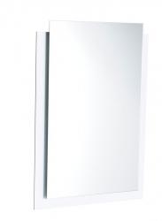 SAPHO - EMA LED podsvietené zrkadlo s presahom 50x70cm, biela (22456)