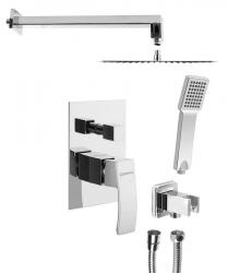 SAPHO - GINKO podomietkový sprchový set s pákovou batériou, 2 výstupy, chróm (1101-42-01)