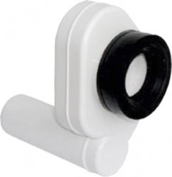 SAPHO - Pisoárový sifón, zadný, odsávací, odpad 50mm, plast (CV1022)