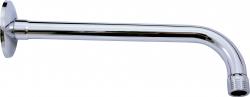 SLEZAK-RAV - Držiak bočný pre hlavovú sprchu - chróm - 40 cm, Farba: chróm (MD0150)