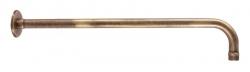 SLEZAK-RAV - Držiak bočný pre hlavovú sprchu - stará mosadz, Farba: stará mosadz (MD0150SM)