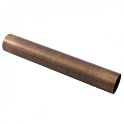 SLEZAK-RAV - Rúrka k umývadlovému sifónu - horizontálna časť - stará mosadz, Farba: stará mosadz, Rozmer: 35 cm (MD0691-35SM)