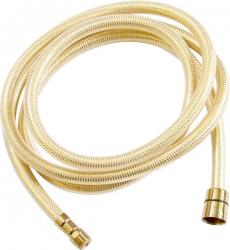SLEZAK-RAV - Sprchová hadica - 200 cm ZLATÁ, Farba: plast / zlato, Rozmer: 200 cm (PH2006Z)