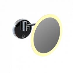 STEINBERG - LED kozmetické zrkadlo, s dotykovým senzorom, chróm (650 9030)