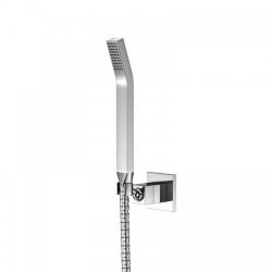 STEINBERG - Sprchová súprava, chróm (nástenný držiak, ručná sprcha, kovová hadica) (120 1650)