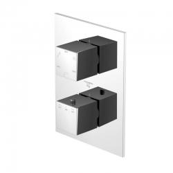 STEINBERG - Termostatická podomietková batéria /bez telesa/, 3 výstupy, chróm (160 4123)