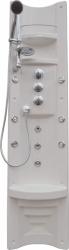 Teiko HM panel PAMO-páková batéria, biely-chróm doplnky, rohový V261185N65T01011 (V261185N65T01011)
