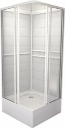 TEIKO sprchový box štvorcový SBOXRH 2/90 PEARL BIELY 90x90x185 (V323090N51T12001)