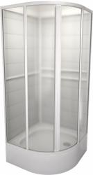 TEIKO sprchový box štvrťkruhový SBOXKH 2/80 PEARL BIELY 80x80x185 (V323080N51T22001)