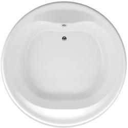 TEIKO vaňa kruhová BORNEO-O BIELA 160 x 49 (V115160N04T01001)