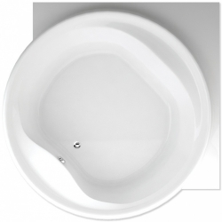 TEIKO vaňa kruhová BORNEO-R BIELA 177 x 177 x 49 (V111160N04T02001)