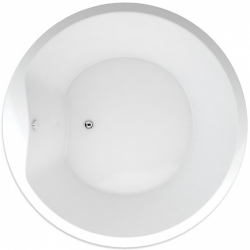 TEIKO vaňa kruhová SPACE 160 Biela 160 x 51 (V115160N04T04001)