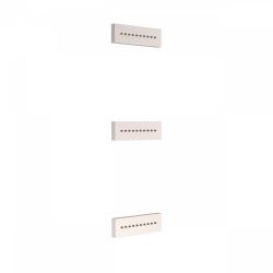 TRES - 3 zapustené hydromasážne trysky 140x45 mm. Materiál Mosadz. (29951505AC)