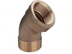 """VIEGA  s.r.o. - Bronz koleno 45st. 1/2 """"vnútro / mimo Viega model 3121 264208 (V 264208)"""