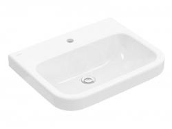 VILLEROY & BOCH - Architectura Umývadlo 600x470 mm, bez prepadu, otvor na batériu, CeramicPlus, alpská biela (418861R1)