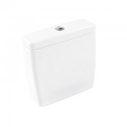 VILLEROY & BOCH - Avento WC kombi nádrž, 390x140 mm, CeramicPlus, alpská biela (775811R1)