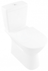 VILLEROY & BOCH - O.novo Vita WC kombi misa bezbariérová, Vario odpad, DirectFlush, AntiBac, alpská biela (4620R0T1)