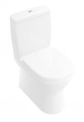 VILLEROY & BOCH - O.novo WC kombi misa, Vario odpad, CeramicPlus, alpská biela (565810R1)