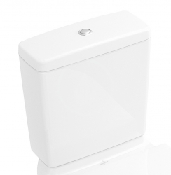 VILLEROY & BOCH - O.novo WC nádržka kombi, zadný/bočný prívod, CeramicPlus, alpská biela (5760G1R1)