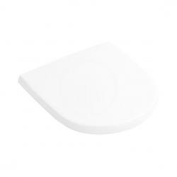 VILLEROY & BOCH - O.novo WC sedadlo s poklopom, biele – sedadlo, so softclose (9M38S101)