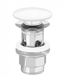 VILLEROY & BOCH - Příslušenství Odtoková súprava Push-Open, CeramicPlus, Stone White (8L0334RW)