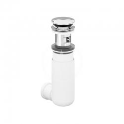 VILLEROY & BOCH - Sifony Umývadlový sifón Easy Access s ventilom Push Open, chróm (92198800)