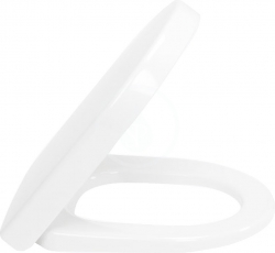 VILLEROY & BOCH - Subway 2.0 WC sedadlo s poklopom, softclose – sedadlo, závesy z ušľachtilej ocele (9M69S101)