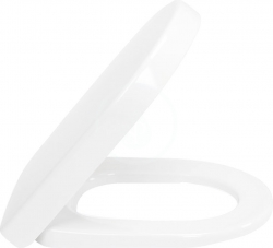 VILLEROY & BOCH - Subway 2.0 WC sedadlo s poklopom, softclose – sedadlo, závesy z ušľachtilej ocele, Ceramicplus R3 (9M68S1R3)