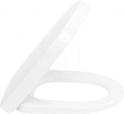 VILLEROY & BOCH - Subway 2.0 WC sedadlo s poklopom, softclose – sedadlo, závesy z ušľachtilej ocele, Ceramicplus R3 (9M69S1R3)