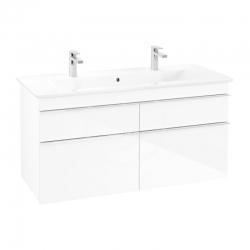 VILLEROY & BOCH - Venticello Umývadlová skrinka, 1153x590x502 mm, 4 zásuvky, Glosy White (A92901DH)