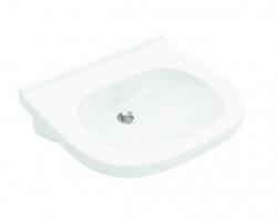 VILLEROY & BOCH - ViCare Umývadlo Vita 560x550 mm, bez prepadu, bez otvoru na batériu, alpská biela (41195701)