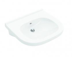 VILLEROY & BOCH - ViCare Umývadlo Vita 560x550 mm, s prepadom, bez otvoru na batériu, alpská biela (41195801)