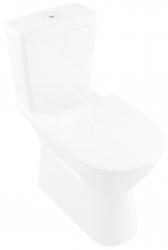 VILLEROY & BOCH - ViCare WC kombi misa bezbariérová, Vario odpad, DirectFlush, AntiBac, CeramicPlus, alpská biela (4620R0T2)