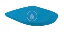 VILLEROY & BOCH - ViCare WC sedadlo, SoftClosing, QuickRelease, AntiBac, modrá (9M67S1P1)