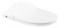 VILLEROY & BOCH - ViClean Bidetové sedátko ViClean, vrátane ovládania, farba alpská biela (V02EL401)