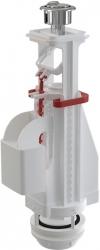 Vypúšťací ventil A08 dvojtlačítkom, 31-45cm, (oblé tlačidlo) ALCAPLAST A08 (A08)