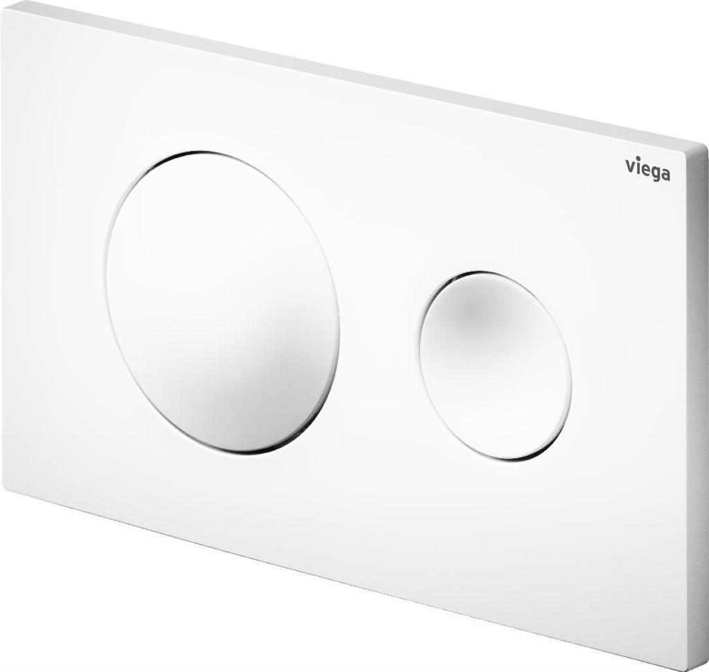 VIEGA  s.r.o. - Viega previsti ovládacie doska plast biela Visign for Style 20 model 86101 (V 773793)