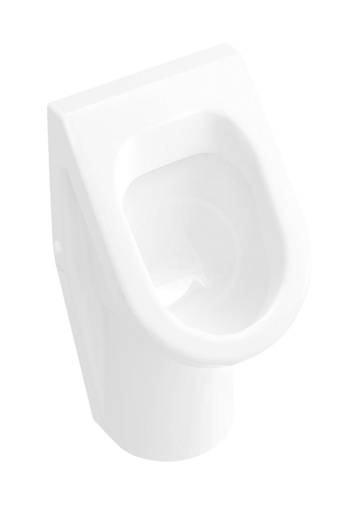 VILLEROY & BOCH - Architectura Odsávací pisoár, zadný prívod, AntiBac, alpská biela (557400T1)