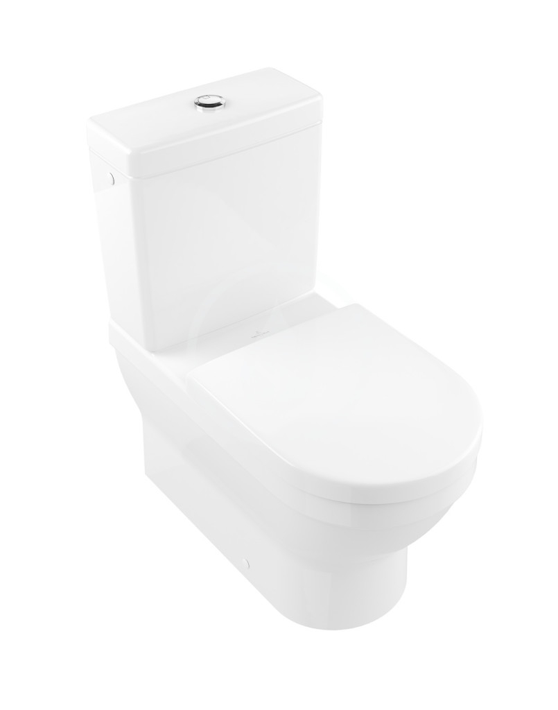VILLEROY & BOCH - Architectura WC kombi misa, Vario odpad, AntiBac, alpská biela (568610T1)